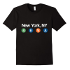 NYC Subway t Shirt (New York Men | Women Tee)