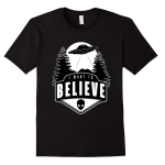 I Want To Believe Shirt – Alien Ufo T Shirt Men | Women